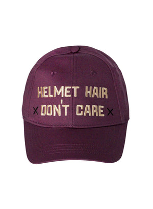 HELMET HAIR DON'T CARE HAT - Leveza