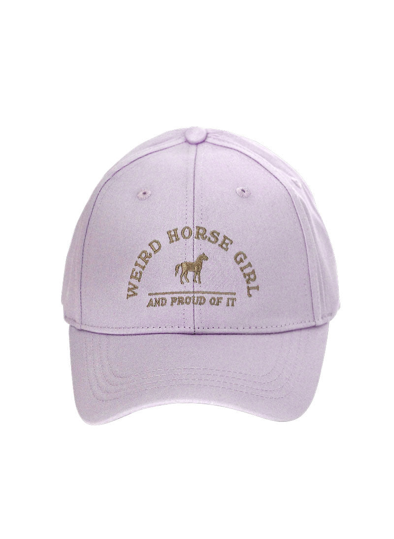 WEIRD HORSE GIRL RINGSIDE HAT - Leveza