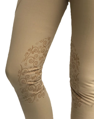 Florence knee patch Beige - FINAL SALE NO RETURN - - Leveza