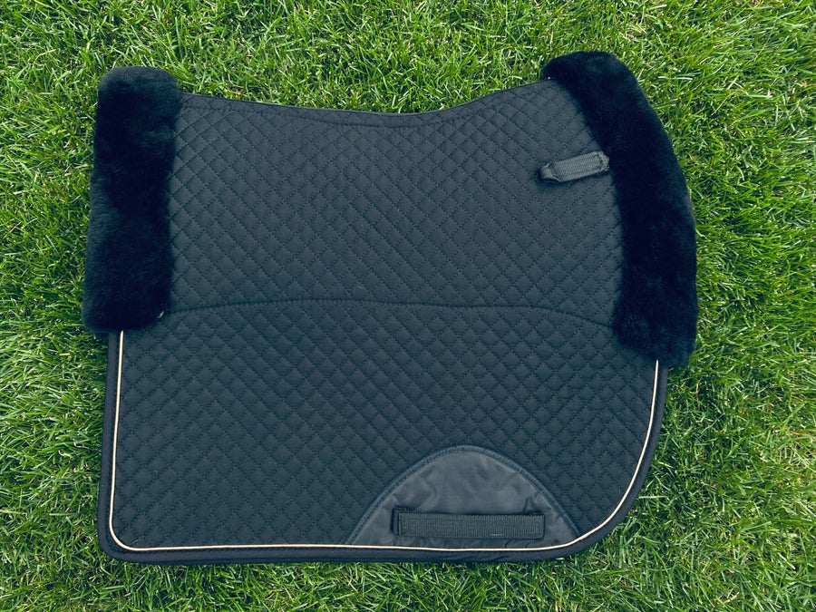 Black Limited Sheepskin pad