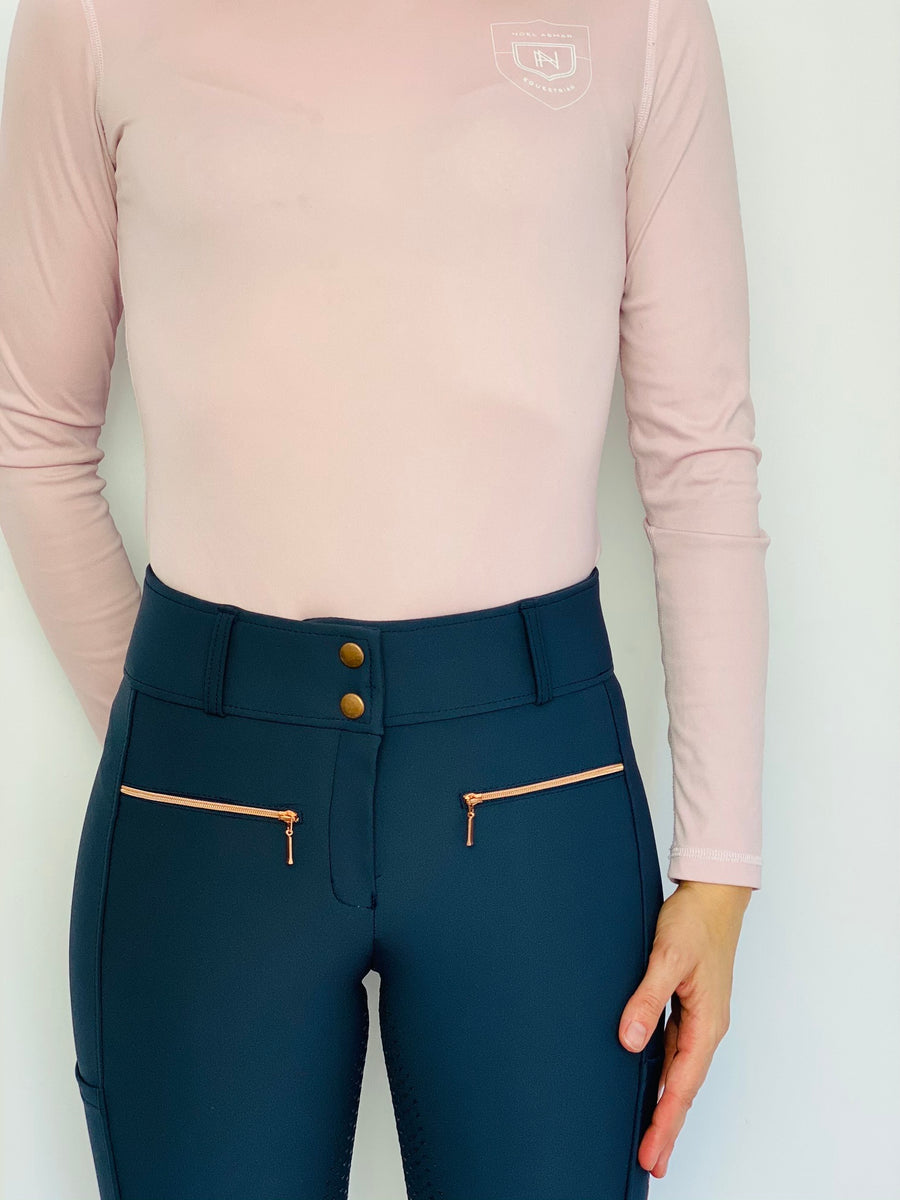 Verano Navy Gold breeches