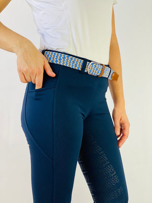 Fiona navy leggings