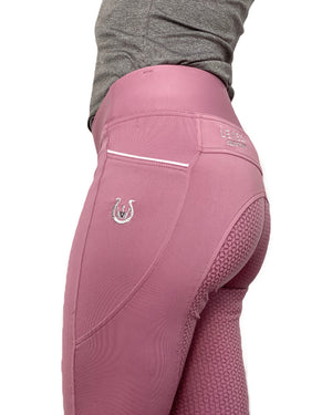 Rose Riding Leggings - Leveza