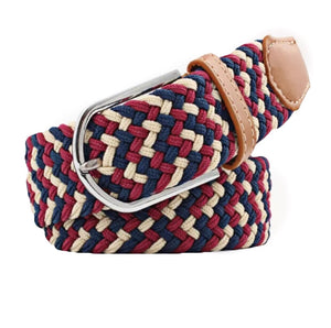 Belt Navy beige rasberry - Leveza
