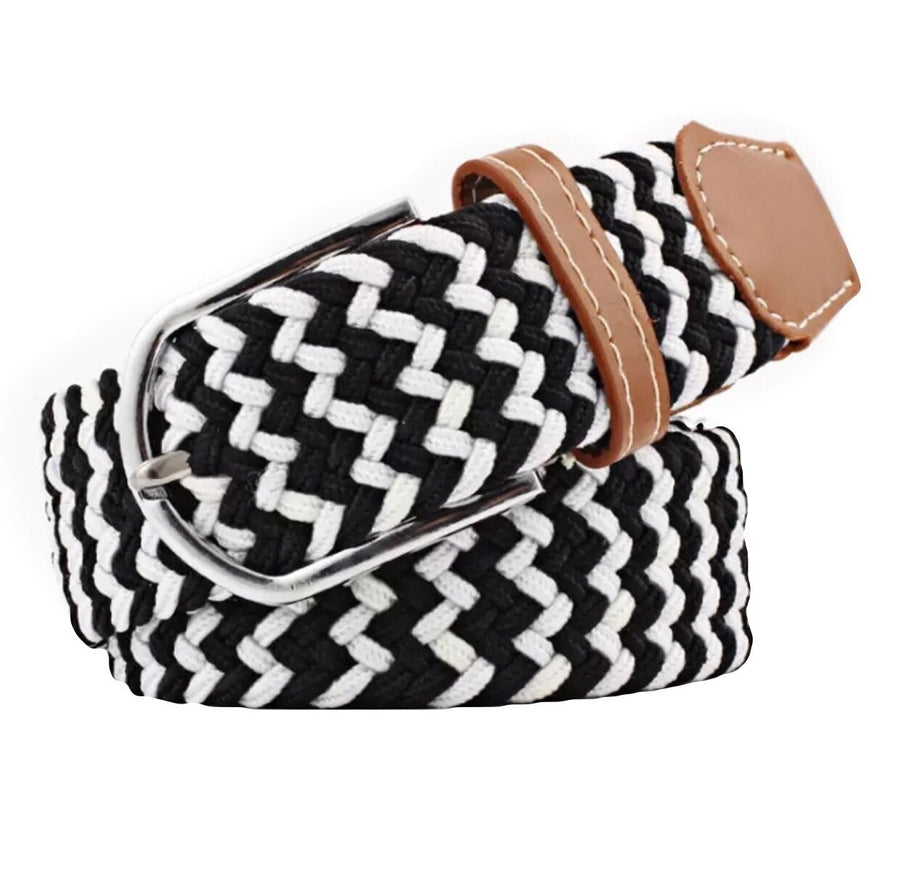 Belt Black-White - Leveza