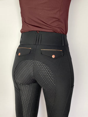 Verano Light Black breeches