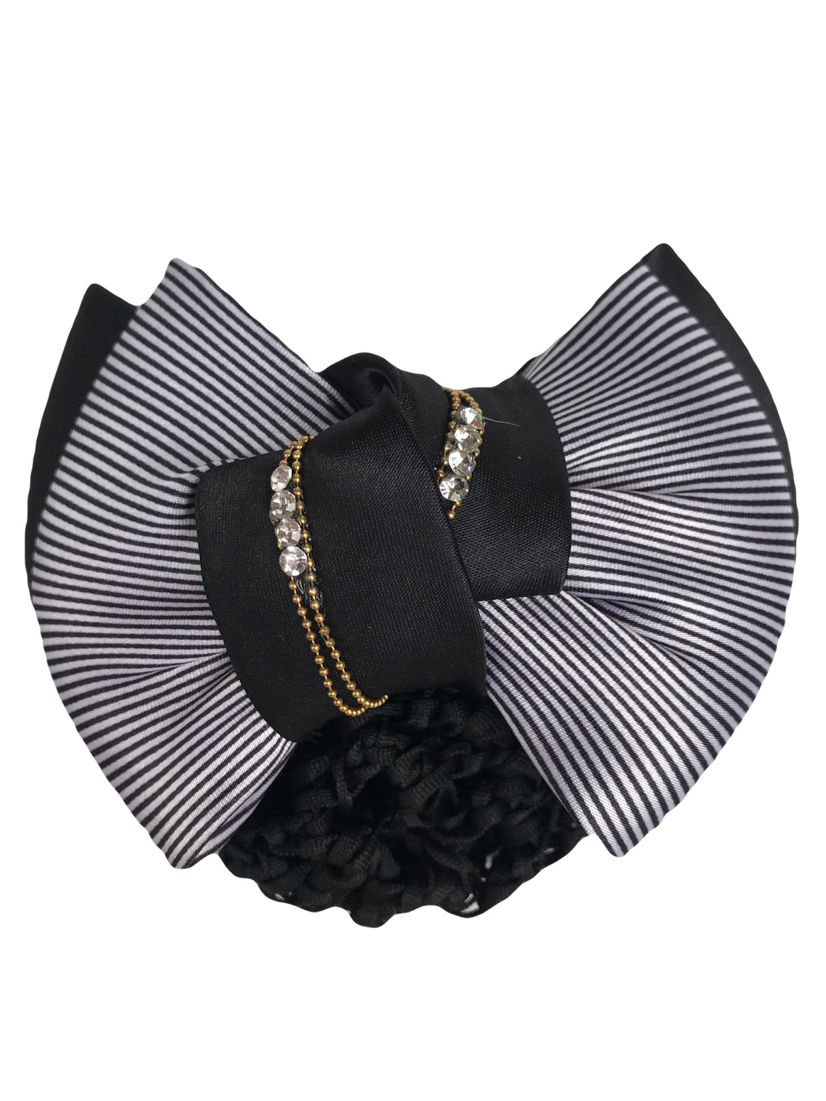 Black White Lady Show Bow - Leveza