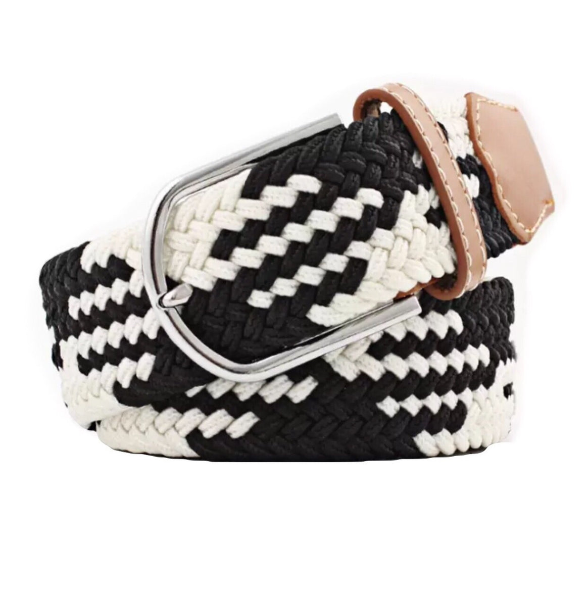 Belt Black White - Leveza
