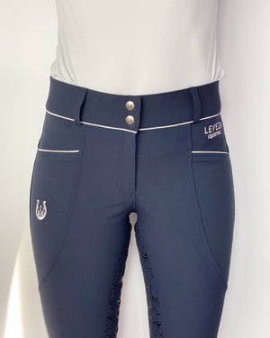 Florence Navy Full seat breeches - Leveza