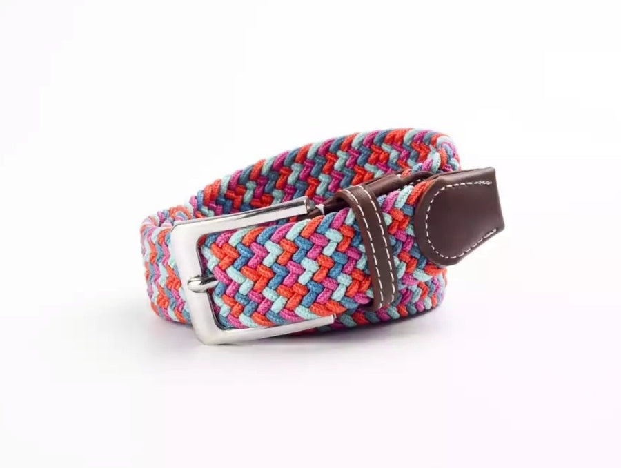 Belt pink turquoise