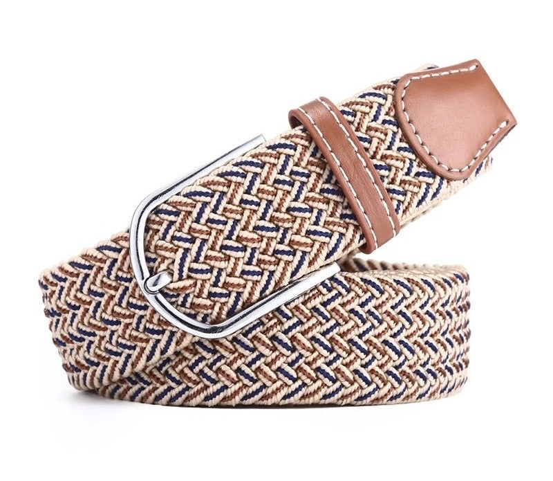 Belt Beige Navy