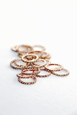 XS BRAID BLING rose gold - Leveza
