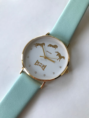 Bascule Wrist Watch Minth Gold - Leveza