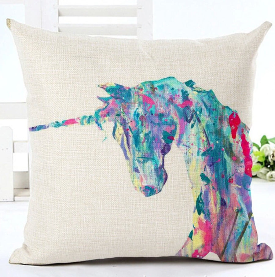 Unicorn pillow cover - Leveza