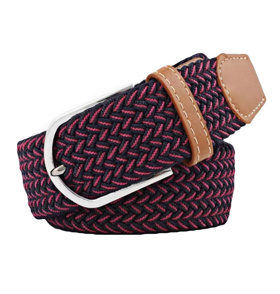 Navy rasberry Belt - Leveza