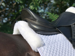 White Limited sheepskin pad