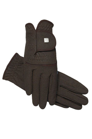 Soft Touch Gloves - Brown
