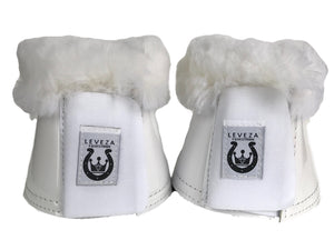 Miss bell boots White - Leveza