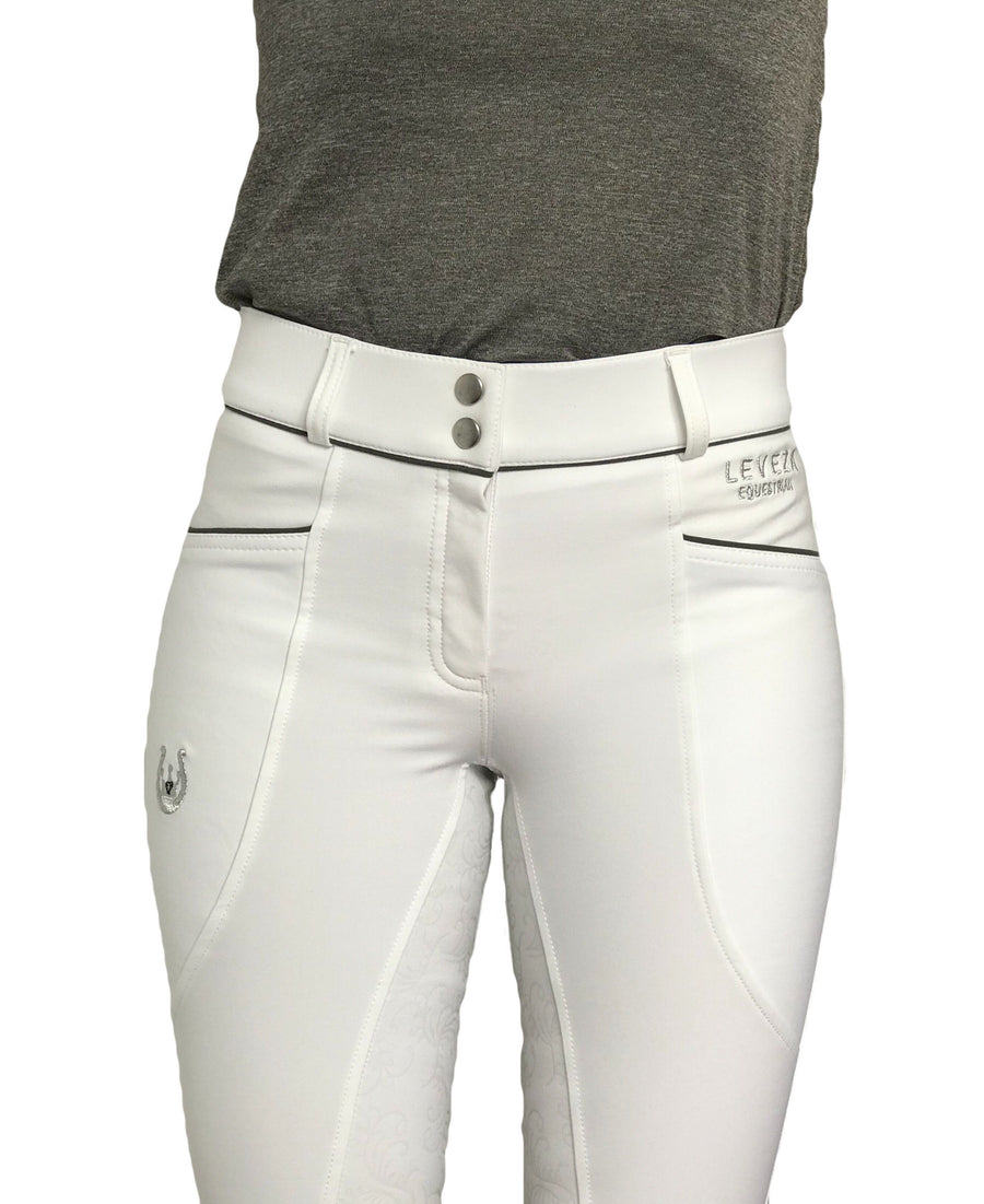 Florence all White breeches - Leveza