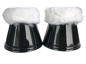 Miss bell boots black/white - Leveza