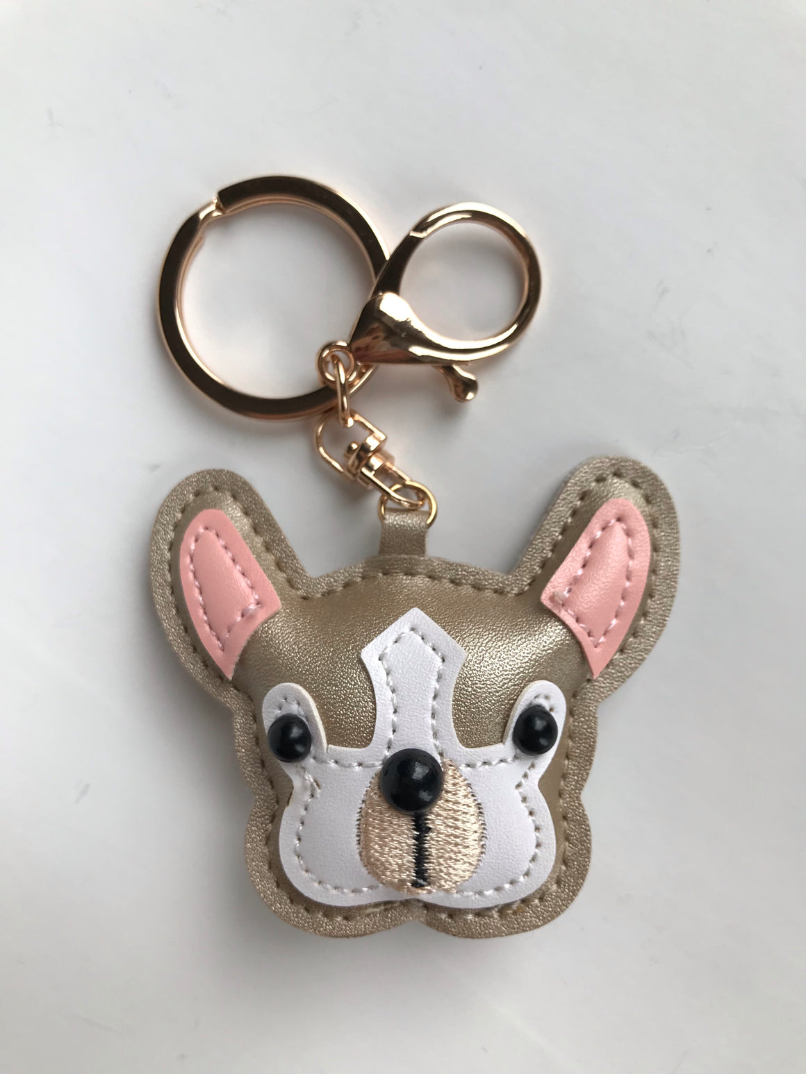 French bulldog keychain - Leveza
