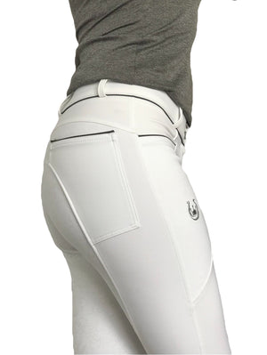 SECOND Florence all White breeches - FINAL SALE - - Leveza