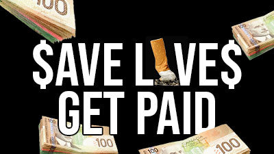 Get paid to help your friends quit smoking!
