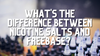 What's The Difference Between Nicotine Salts And Freebase?