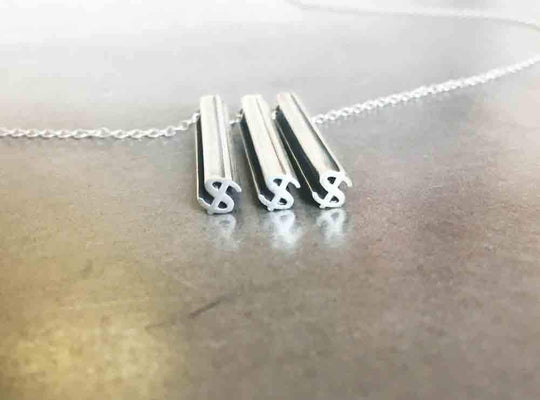 $$$ NECKLACE-STERLING SILVER-outlet