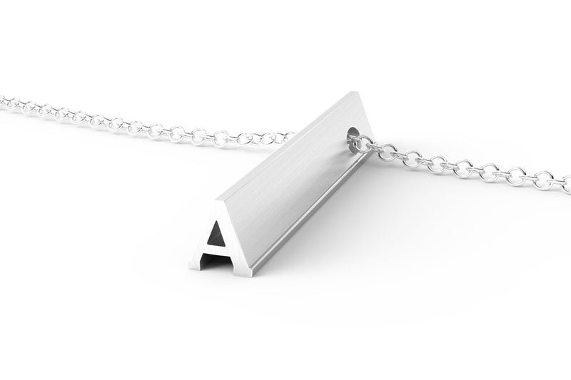 Letter A Original Pendant Necklace