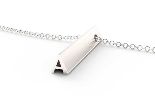 A - Long Pendant Necklace