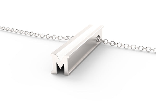 M - Original Pendant Necklace
