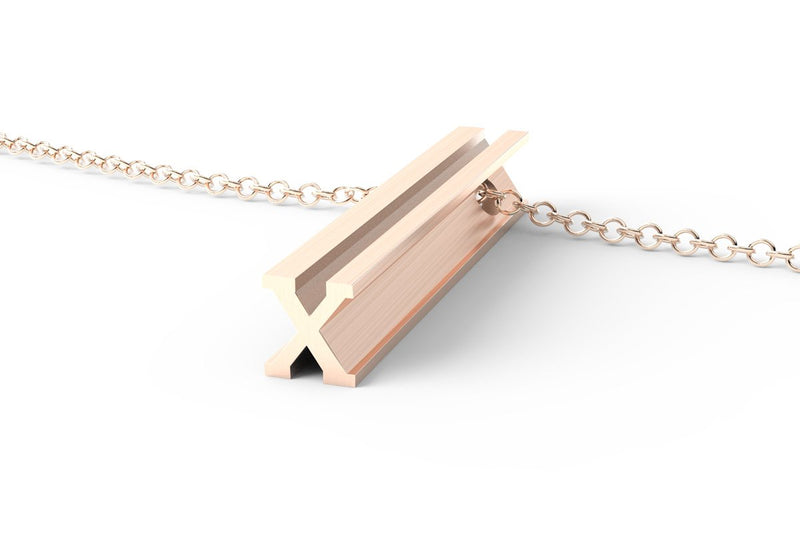 X - Long Pendant Necklace