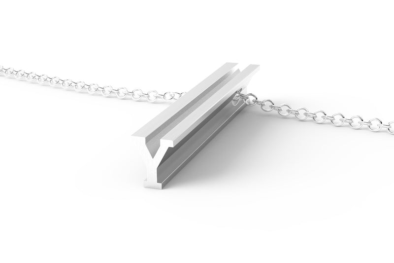 White Gold Pendant Necklace