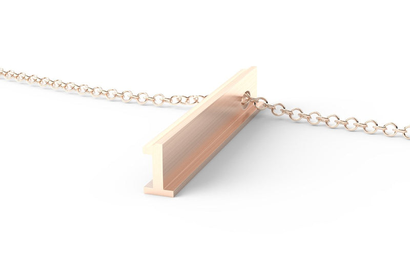 ONE - Long Pendant Necklace