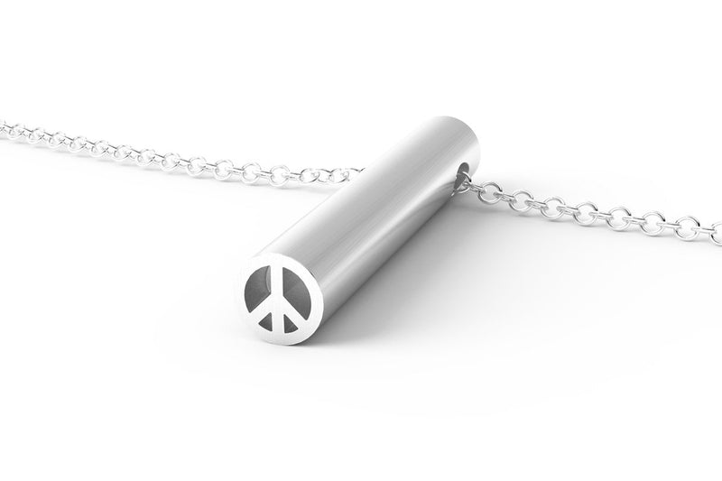 PEACE - Long Pendant Necklace