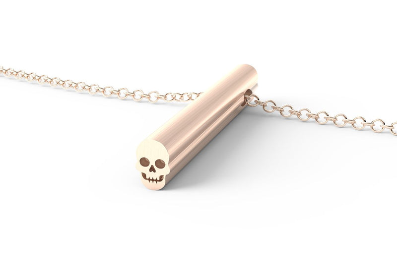 SKULL - Long Pendant Necklace