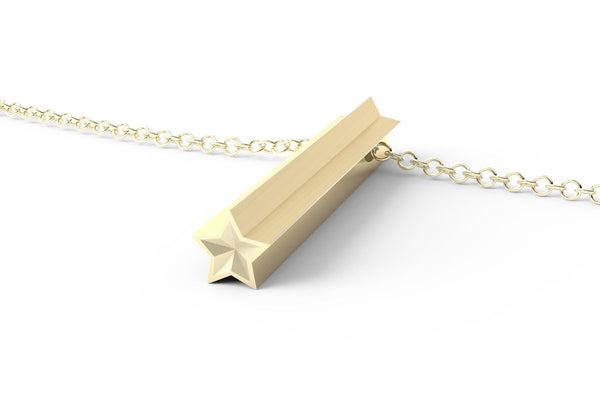 STAR - Long Pendant Necklace