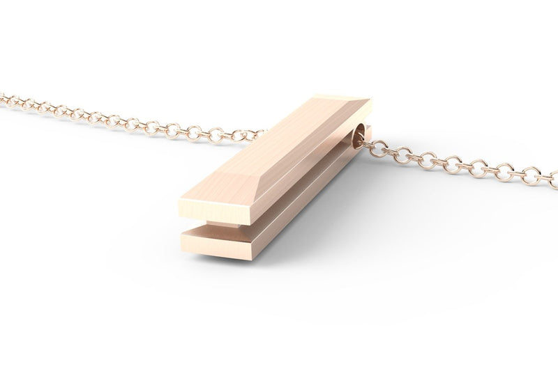 EQUAL - Long Pendant Necklace