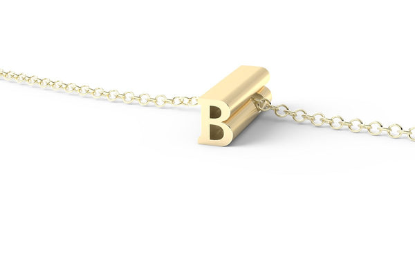 B - Short Pendant Necklace