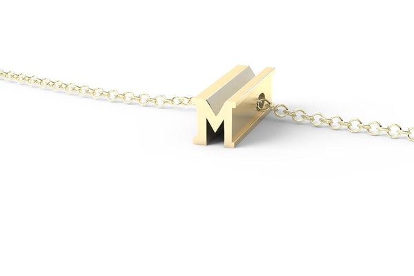 M - Short Pendant Necklace