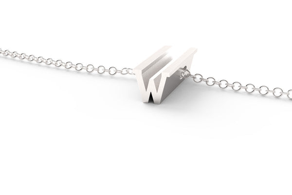 W - Short Pendant Necklace