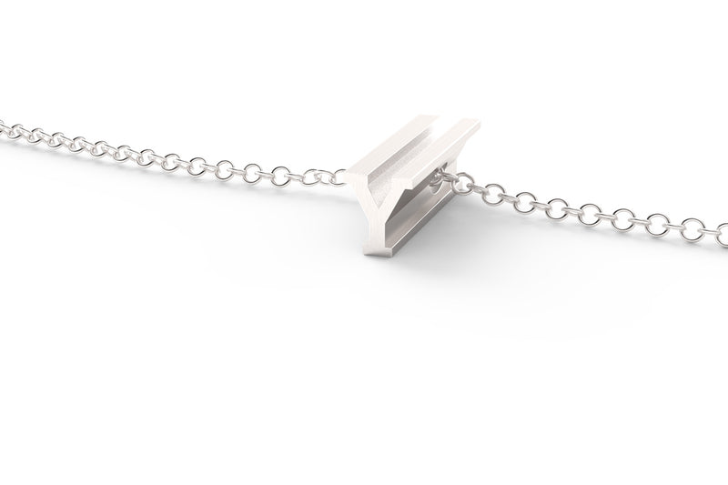 Silver Pendant Necklace - Short