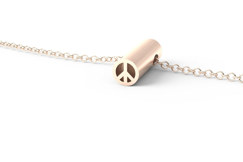 PEACE - Short Pendant Necklace