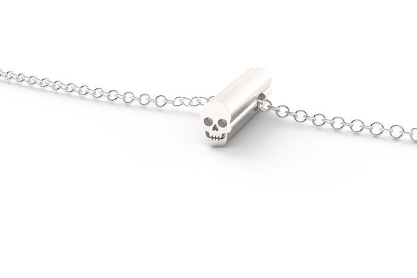 SKULL - Symbol Short Pendant Necklace