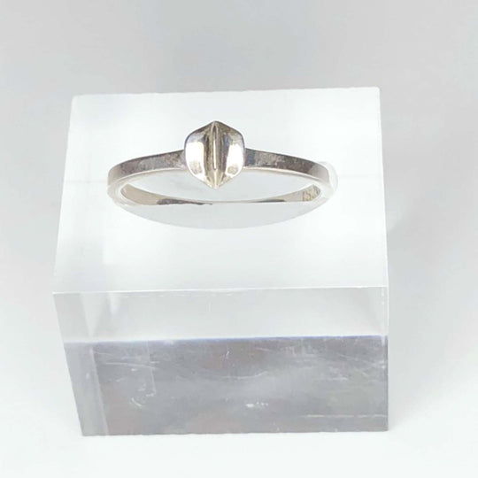 STERLING SILVER - STAR - SLICE RING - OUTLET