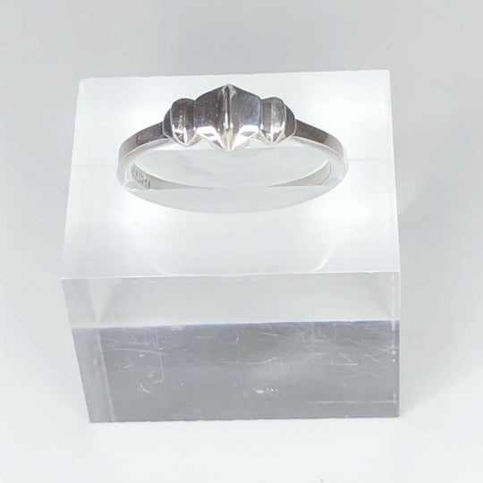 STERLING SILVER - TRIPLE STAR - SLICE RING - OUTLET