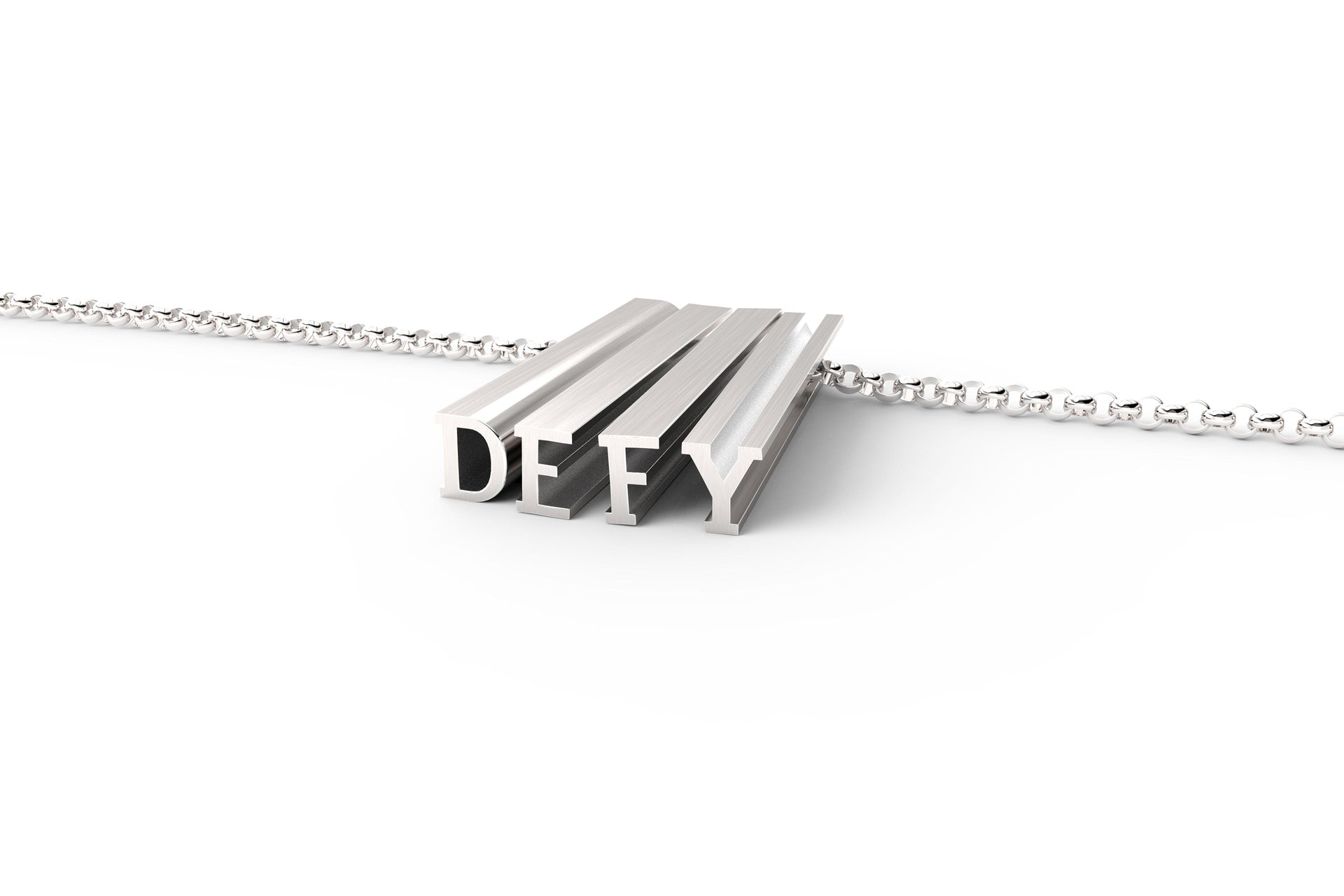 DEFY // STERLING SILVER // ORIGINAL // THICK CHAIN