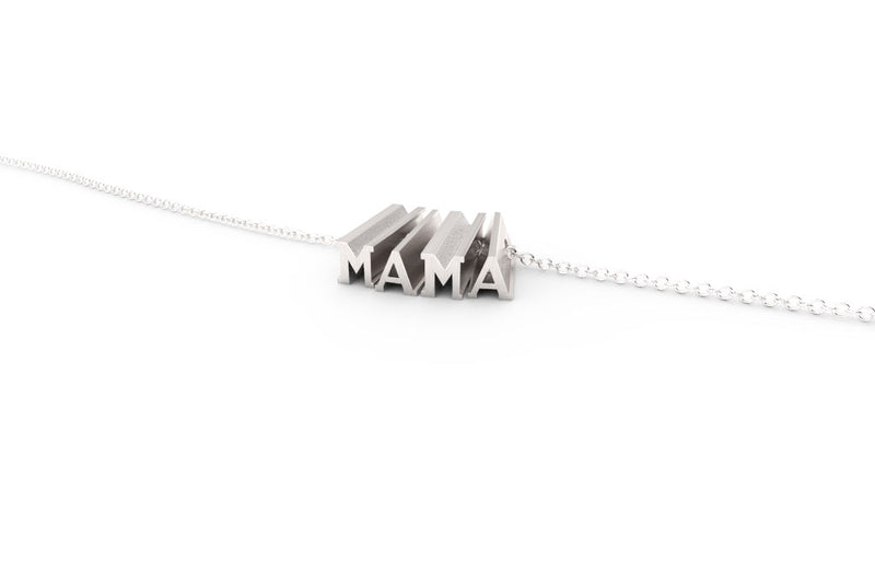 MAMA Necklace - Silver