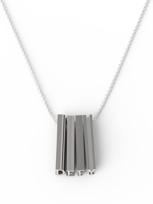 DEFY Necklace - Silver
